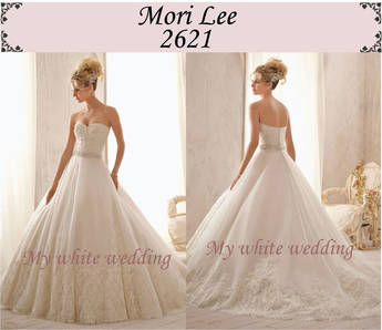 My white wedding mori lee 2621