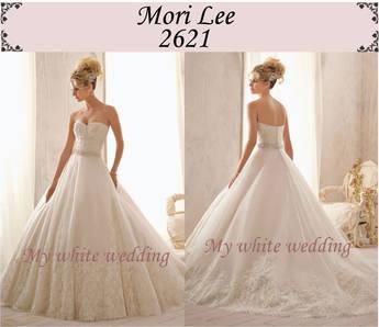 My white wedding mori lee 2621