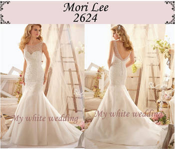 My white wedding mori lee 2624