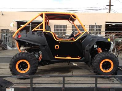 Fl orange   gloss blk
