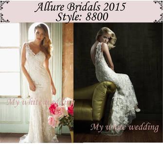 Allure 2015 dresses 8800
