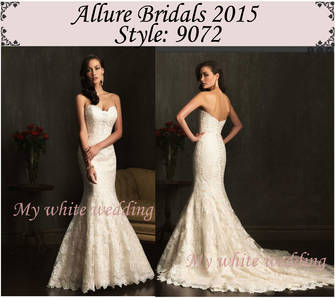 Allure 2015 dresses 9072