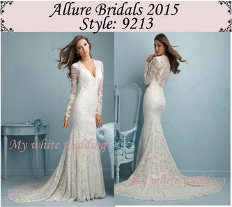 Allure 2015 dresses 9213