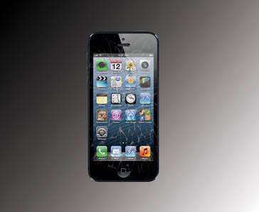 Iphone5 repair cracked screen