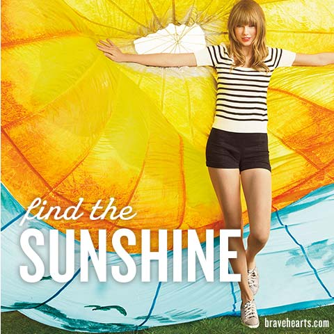 Find the sunshine