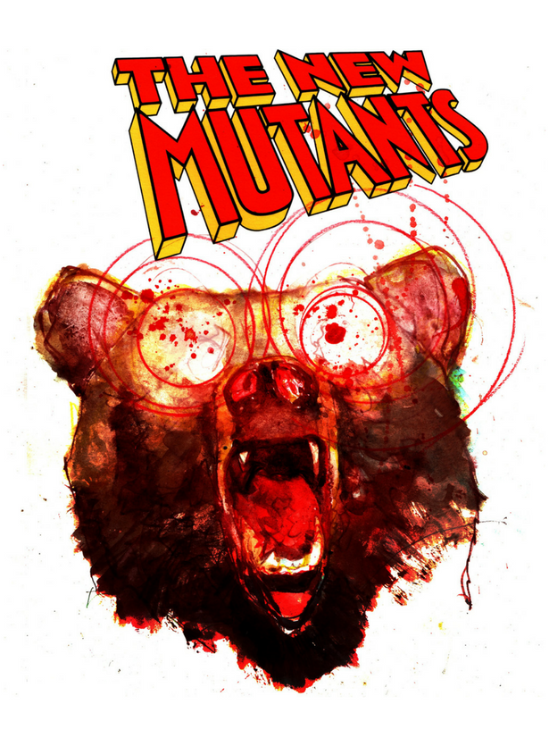 The New Mutants - Assasin Bear - By Bill Sienkiewicz