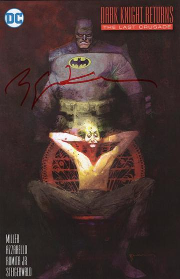 Dark Knight Returns cover By Bill Sienkiewicz