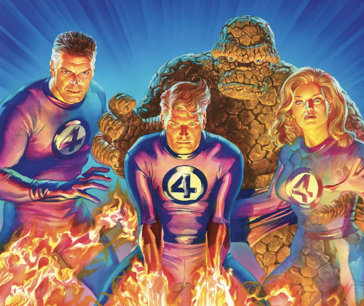 Fantastic Four No 1 - Alex Ross variant cover