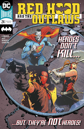 Red Hood and the outlaws No 24 cover