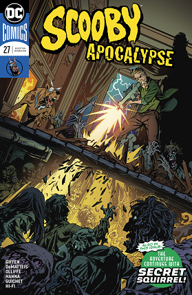 Scooby Apocalypse No 27 cover