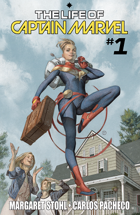 The life of Captain Marvel No1 cover
