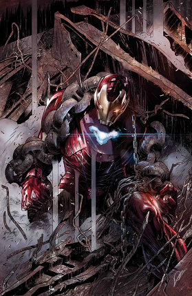 Tony Stark: Iron Man No 2 cover