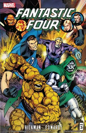 Fantastic Four By Jonathan Hickman Vol 3 cover