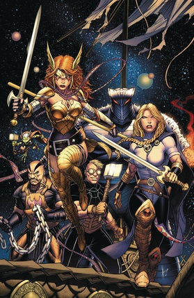 Asgardians of the galaxy no 1 cover