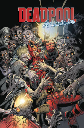 Deadpool Assassin no 4 cover
