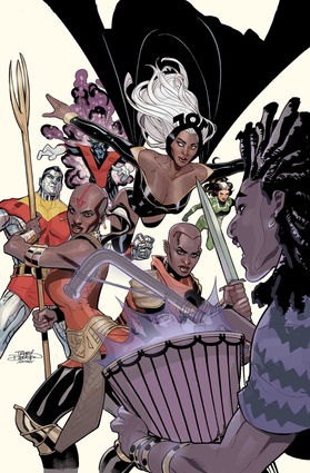Wakanda Forever X-Men No 1 cover