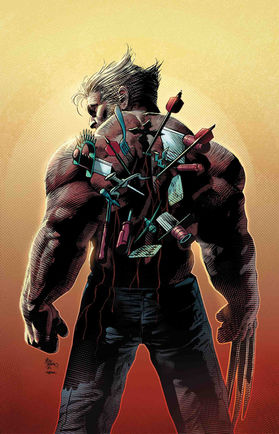 Old Man Logan No 44 cover