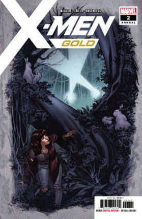 x-men Gold Annual No 2 cover