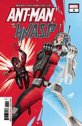 Ant-man and the Wasp No 4 cover
