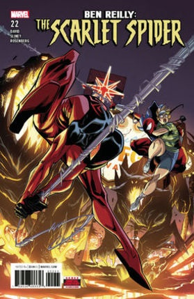 Ben Reilly Scarlet Spider No 22 cover