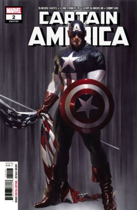 Captain America No 2 cover