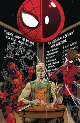 Spider-man vs Deadpool No 37 cover