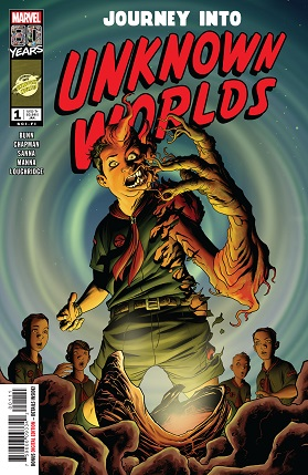 Journey into unknown worlds #1 cover