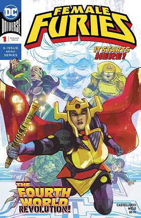 Female Furies #1 cover