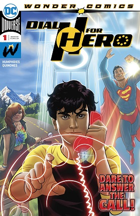 Dial H for hero #1 cover