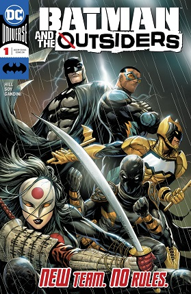 Batman and the Outsiders #1 cover