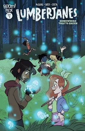 Lumberjanes somewhere that's green #1 cover