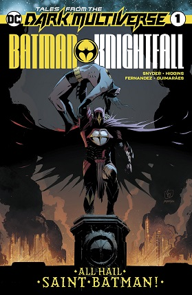 Tales from the dark multiverse Batman Knightfall #1 cover