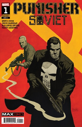Punisher Soviet #1 cover