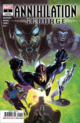 Annihilation Scourge Alpha #1 cover