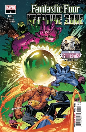 Fantastic four negative zone #1 cover