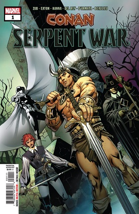 Conan serpent war #1 cover