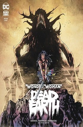 Wonder Woman - Dead earth #1 cover