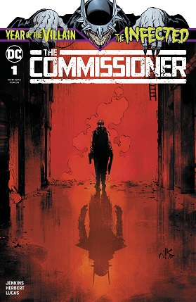 The commissioner #1 cover