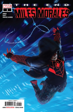 Miles Morales: The end #1 cover