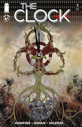 The clock #1 cover