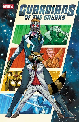Guardians of the galaxy #1 cover