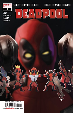 Deadpool The end cover
