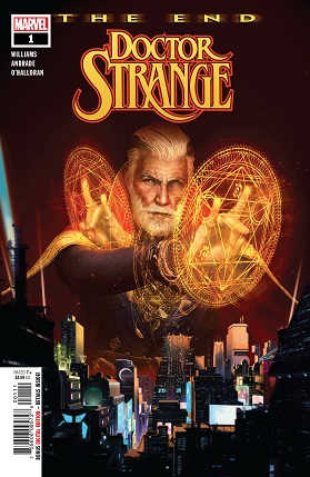 Doctor Strange: The end cover