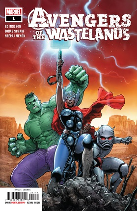 Avengers of the Wastelands #1 cover