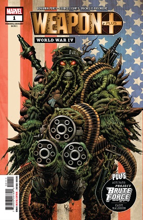 Weapon plus word war IV cover