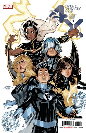 X-men Fantastic Four #1 cover