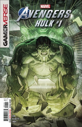 Marvel Avengers Hulk cover