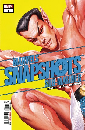 Sub-Mariner Marvels Snapshot cover
