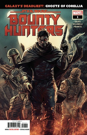 Star Wars Bounty Hunters #1 cover
