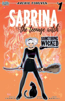 Sabrina something wicked #1 cover